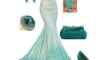 модный сет платья на выпускной 2017