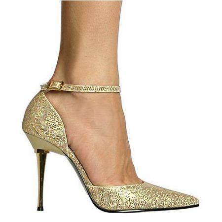 high-heel-gold-wedding-shoes-design
