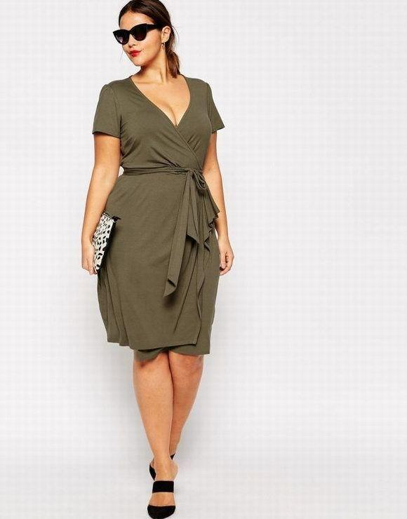 Sexy-women-Deep-V-neck-font-b-dresses-b-font-Vestidos-fashion-Army-font-b-green