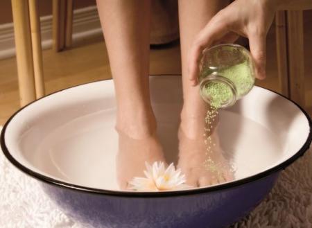 ванночки для ног от трещин
