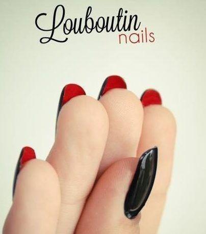 лабутен ногти