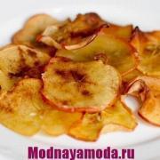 яблочные чипсы в духовке modnayamoda.ru