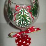 бокалы на новый год своими руками