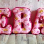 подушка буквы своими руками