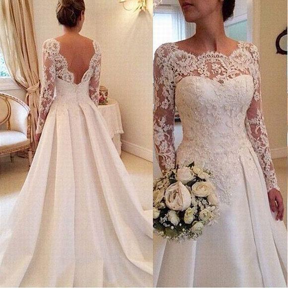 Свадебные платья кружевом