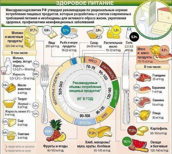 Как нужно правильно питаться чтобы похудеть