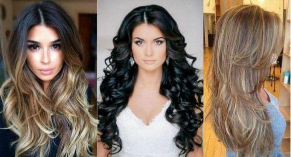 Модные причёски женские на длинные волосы