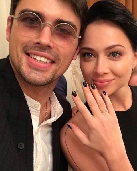 Настасья Самбурская вышла замуж за Кирилла Дыцевича