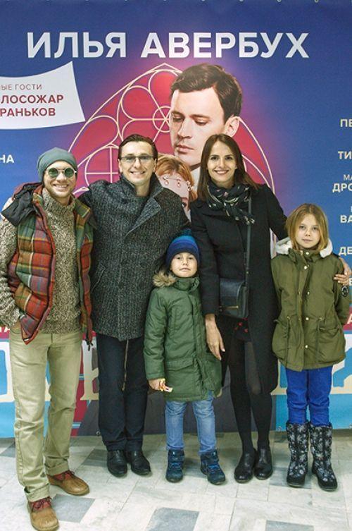 Сергей Безруков впервые показал своих внебрачных детей (ФОТО)