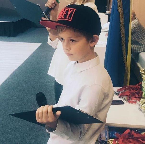 9-летний сын Потапа стал ведущим