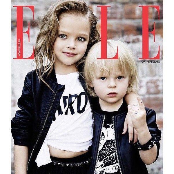 Первоклассница из России стала звездой журнала Vogue