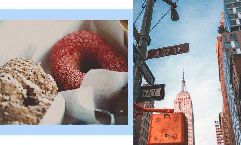 Современный этикет: есть пончик, как в Нью-Йорке