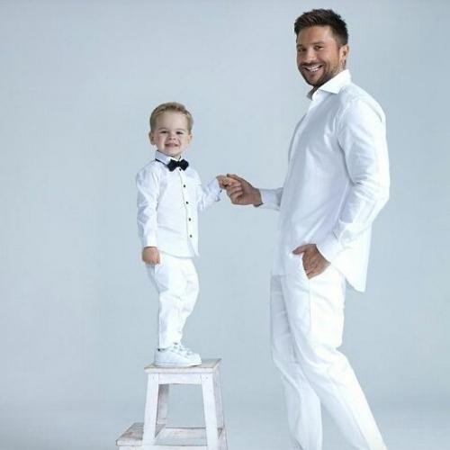 Сергей Лазарев показал сына Никиту в фотосессии и рассказал, почему так долго скрывал наследника