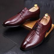 Мужская обувь из кожи крокодила