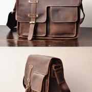 Как выбрать кожаную мужскую сумку