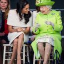 В сети умиляются совместным фото Меган Маркл и Елизаветы II