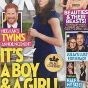 Вот это новость: Меган Маркл и принц Гарри ждут близнецов?