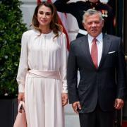 Как сестры: Мелания Трамп и королева Рания в похожих нарядах на встрече в Белом доме