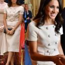 Королева, принц Гарри и Меган Маркл встретились с участниками Queen's Young Leaders