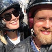 Елена Летучая отправилась в путешествие на мотоцикле