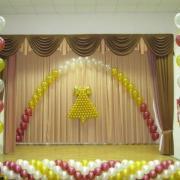 Воздушные шары на выпускной в школе: где заказать?
