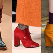 Женские ботильоны и ботинки - мода осени 2018 года
