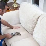 Как выполняется химчистка кожаной мебели