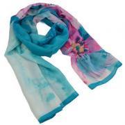 С чем сочетать женский шарф?