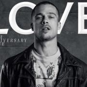 Минус 20 лет: Брэд Питт появился на юбилейной обложке Love Magazine