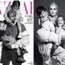 Канье Уэст, Кристина Агилера, Мэрайя Кэри и другие звезды с детьми в фотосессии для Harper`s Bazaar
