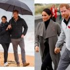 Как обычные люди: Меган Маркл и принц Гарри сходили в кафе и прогулялись по пляжу в Новой Зеландии