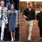 Последний день тура Меган Маркл и принца Гарри: новые фото герцогов Сассекских