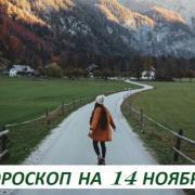 Гороскоп на 14 ноября: мечты не работают, пока не работаешь ты!