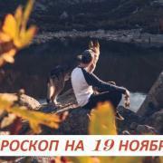 Гороскоп на 19 ноября: смысл жизни имеет лишь жизнь, посвященная другим