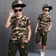 Детский стиль милитари