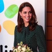 Кейт Миддлтон за рулем Range Rover´а приехала в Букингемский дворец
