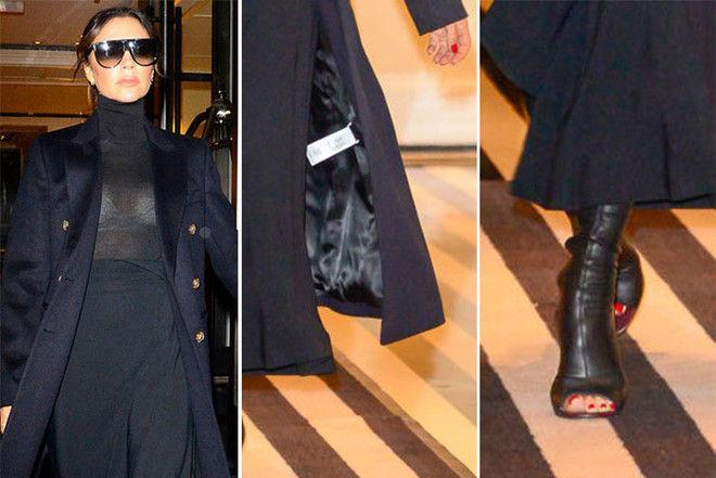 Неудачное белье и сапоги-ласты: модный провал Бекхэм