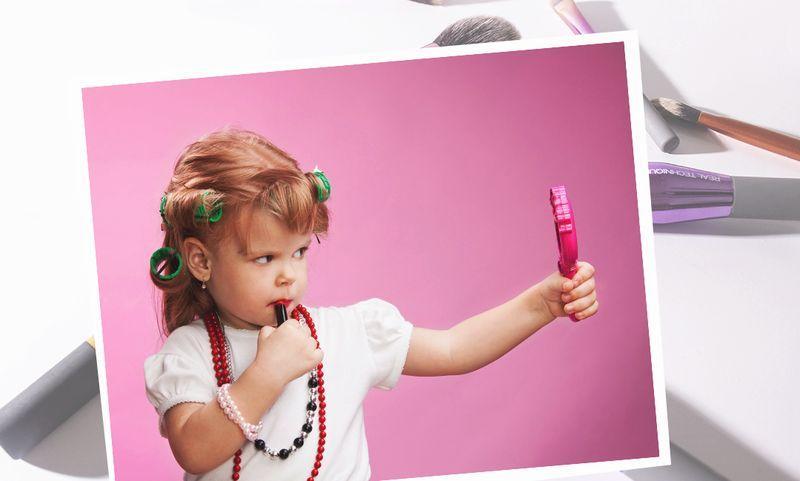 Дети и макияж: родители о том, стоит ли запрещать своему ребенку пользоваться косметикой