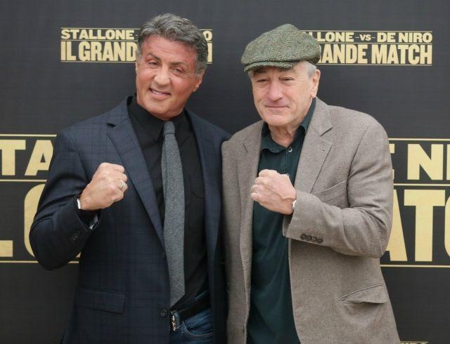 На кого бы поставил? Сталлоне и Де Ниро встретились на ринге