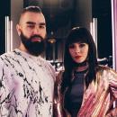 Юлия Санина и Вал из группы The Hardkiss отпраздновали годовщину знакомства