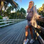 35-летняя Виктория Лопырева впервые стала мамой
