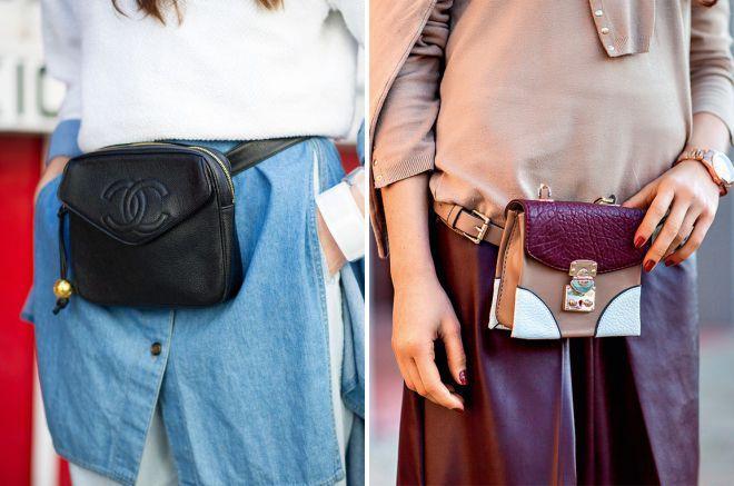 Поясная сумка: как выбрать и с чем носить