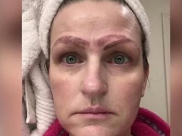 Ошибки татуажа: женщина ушла из салона с 4 бровями