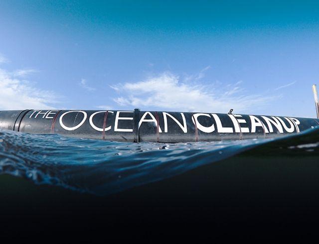 В США запустили систему очистки океана от пластика