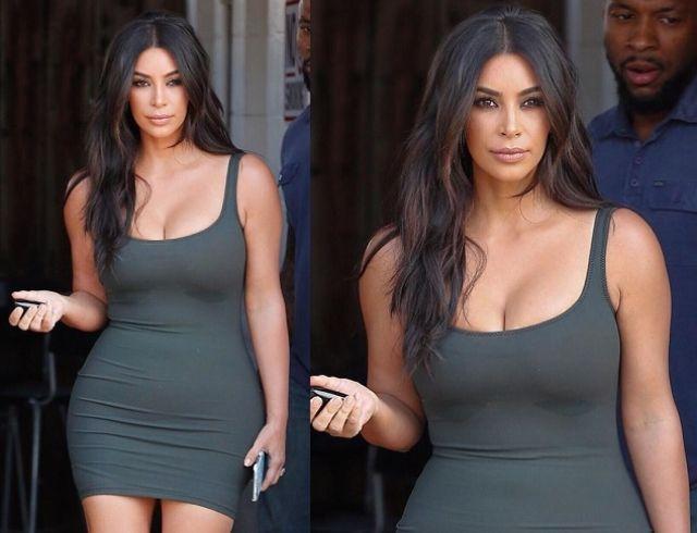 Ким Кардашьян в откровенном образе блеснула на улицах Лос-Анджелеса (ГОЛОСОВАНИЕ)