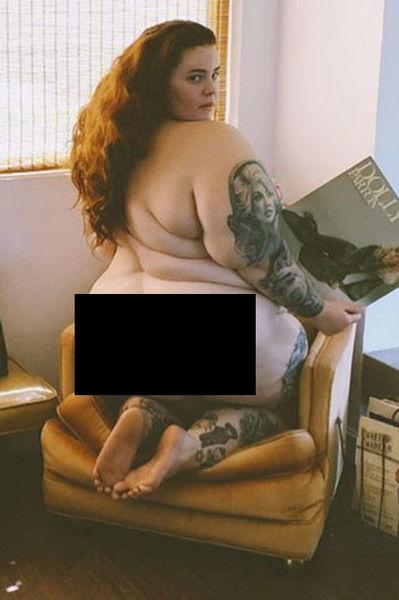 Не для слабонервных: Тесс Холлидей отметила день рождения голым фото