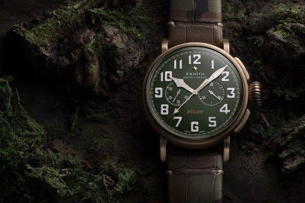 Zenith выпустил часы для любителей приключений