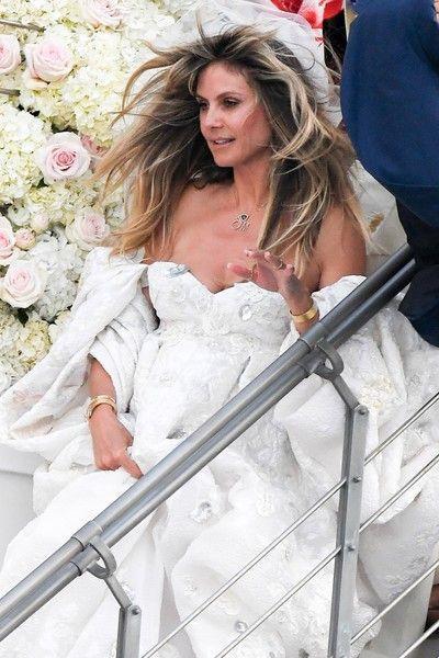 Свадьба Хайди Клум: 4 подвенечных наряда и один купальник