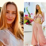 40-летняя модель Петра Немцова впервые станет мамой!