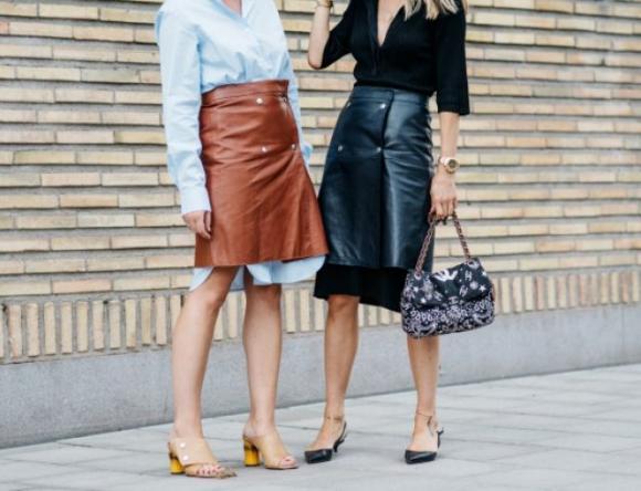 Тепло и уникально: носим сразу две юбки в одном аутфите